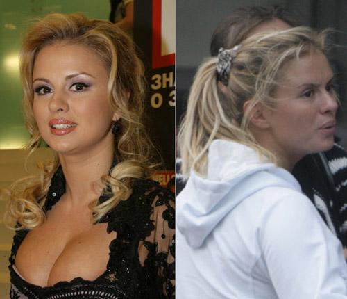 Русские знаменитости без одежды